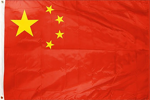 China 3 x 5 ft Flag - Rave Nations