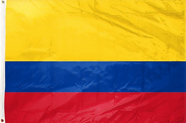 Colombia 3 x 5 ft Flag - Rave Nations
