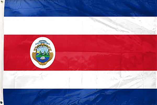 Costa Rica 3 x 5 ft Flag - Rave Nations