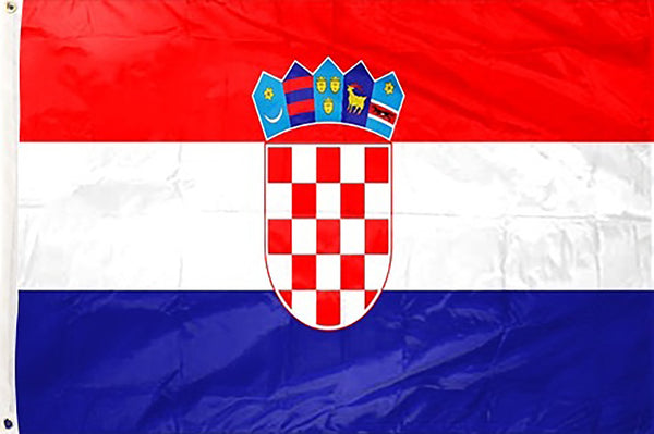 Croatia 3 x 5 ft Flag - Rave Nations