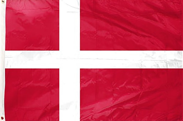 Denmark 3 x 5 ft Flag - Rave Nations
