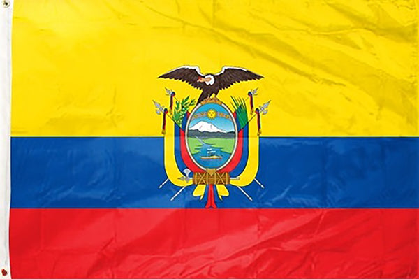 Ecuador 3 x 5 ft Flag - Rave Nations
