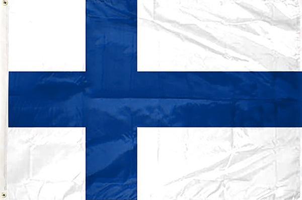 Finland 3 x 5 ft Flag - Rave Nations