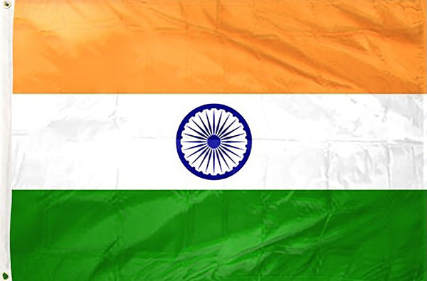 India 3 x 5 ft Flag - Rave Nations