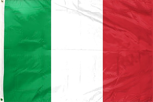 Italy 3 x 5 ft Flag - Rave Nations