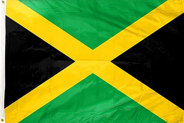 Jamaica 3 x 5 ft Flag - Rave Nations