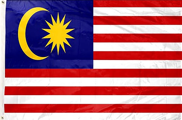 Malaysia 3 x 5 ft Flag - Rave Nations