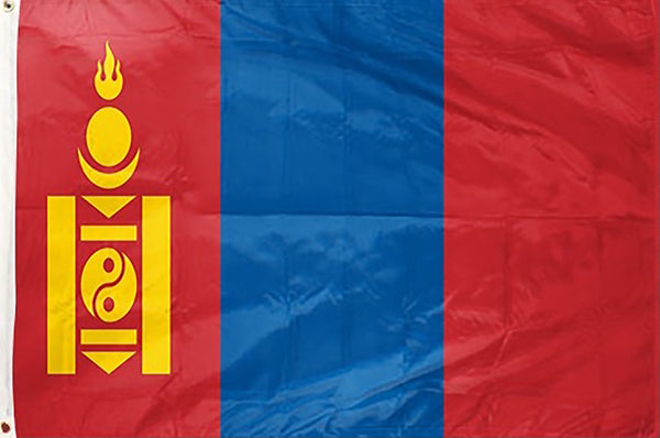 Mongolia 3 x 5 ft Flag - Rave Nations