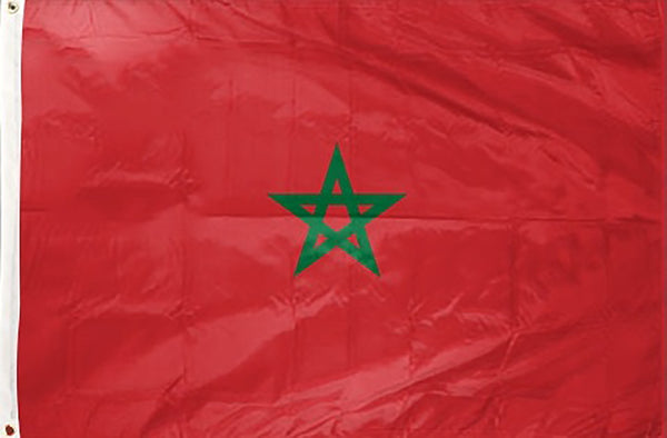 Morocco 3 x 5 ft Flag - Rave Nations