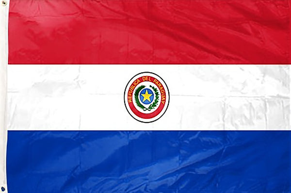 Paraguay 3 x 5 ft Flag - Rave Nations