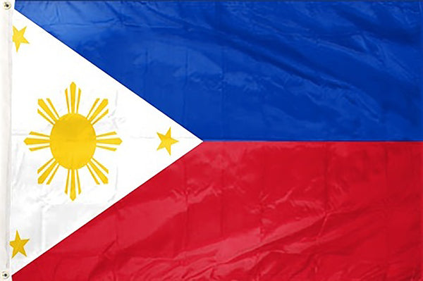 Philippines 3 x 5 ft Flag - Rave Nations