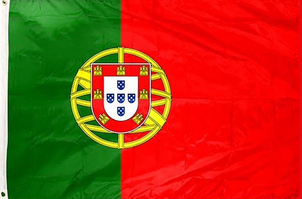 Portugal 3 x 5 ft Flag - Rave Nations