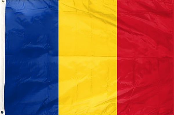 Romania 3 x 5 ft Flag - Rave Nations