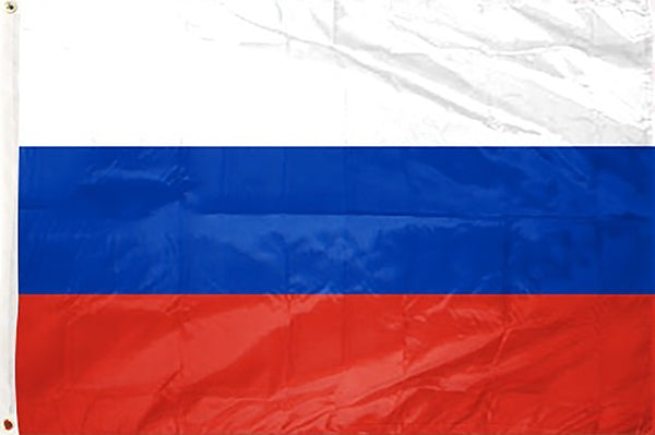 Russia 3 x 5 ft Flag - Rave Nations
