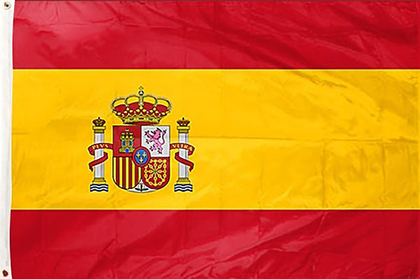 Spain 3 x 5 ft Flag - Rave Nations