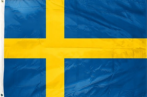 Sweden 3 x 5 ft Flag - Rave Nations