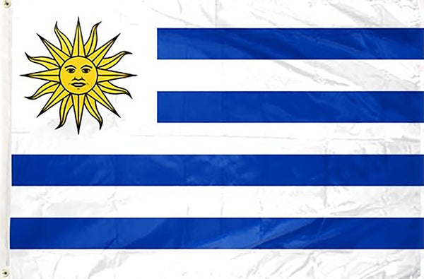 Uruguay 3 x 5 ft Flag - Rave Nations