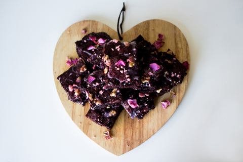 Valentine's Beetroot Brownies