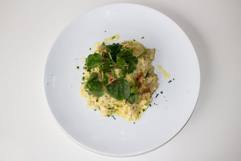 Cream and Parsnip Risotto