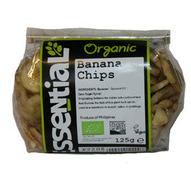 Essential Organic Banana Chips