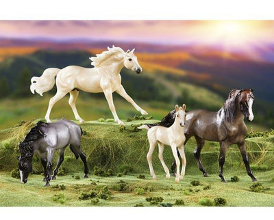 Breyer Cloud´s Encore mustang familie