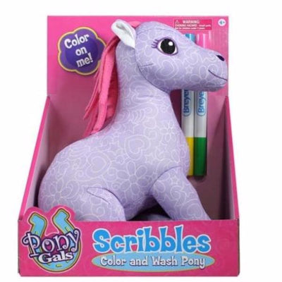 Breyer Scribbles Color & Wash pony