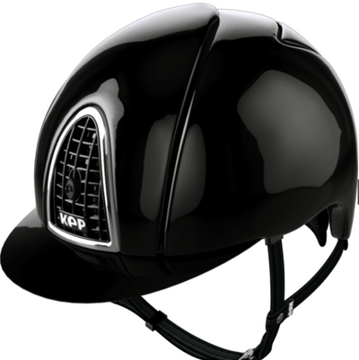 KEP ITALIA Cap Cromo Black Polish/Chrome