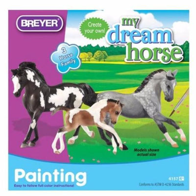 Breyer My Dream Horse- Horse Family malesæt