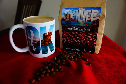 OkiLife Coffee (Whole Beans, 400 grams, Local pickup only)