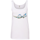 Turtle Ladies' Ringspun Cotton Tank Top