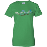 Turtle Ladies Custom 100% Cotton T-Shirt