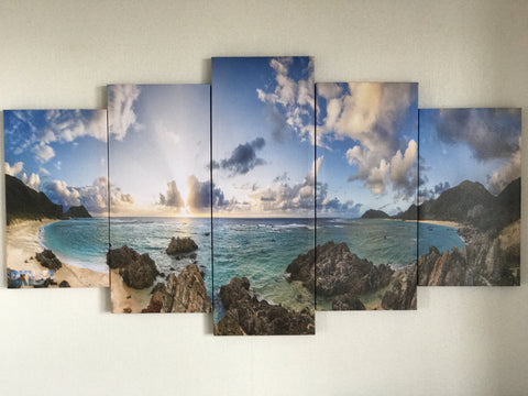Iheya Island Panoramic Canvas by OKILIFE