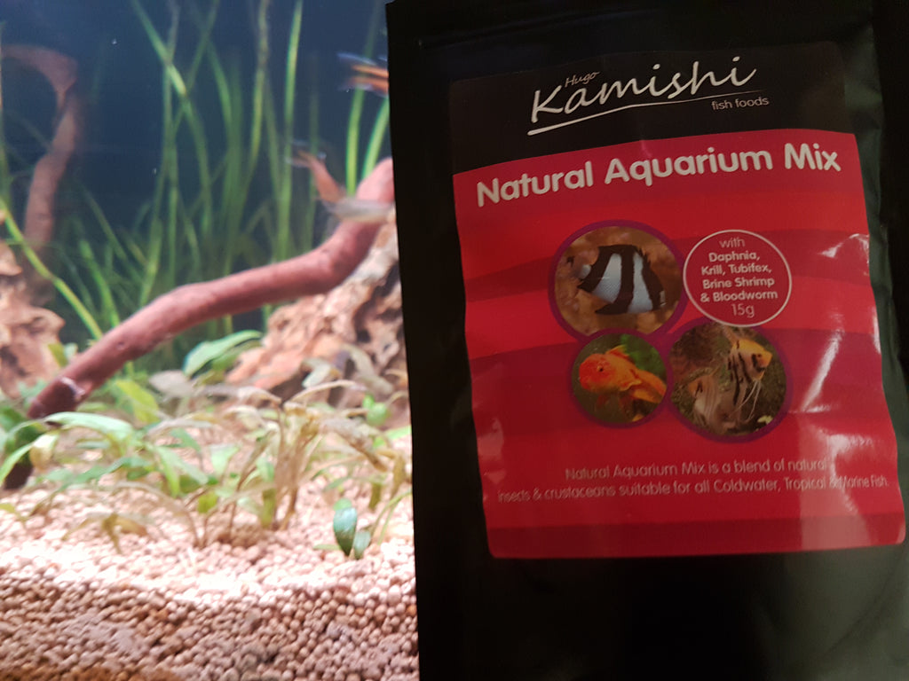 Natural Aquarium Food