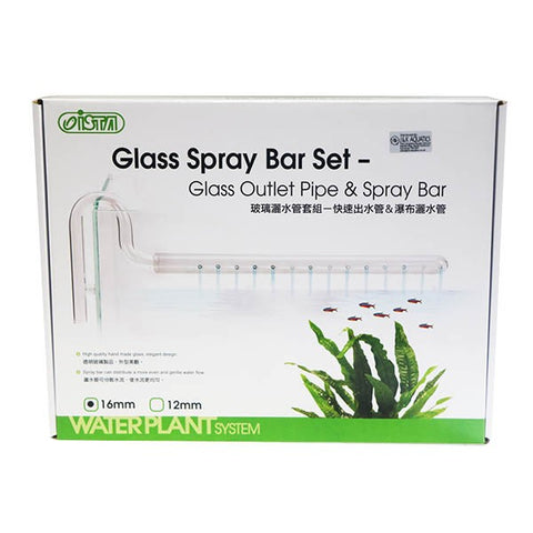 Ista Glass Outlet And Spray Bar Set 16mm