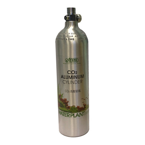 Ista 1 litre Co2 Refillable Bottle Face up