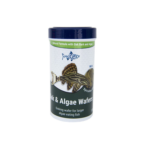 Fishscience Oak Algae Wafers