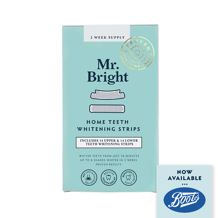 Teeth Whitening Strips - 14 Day Treatment