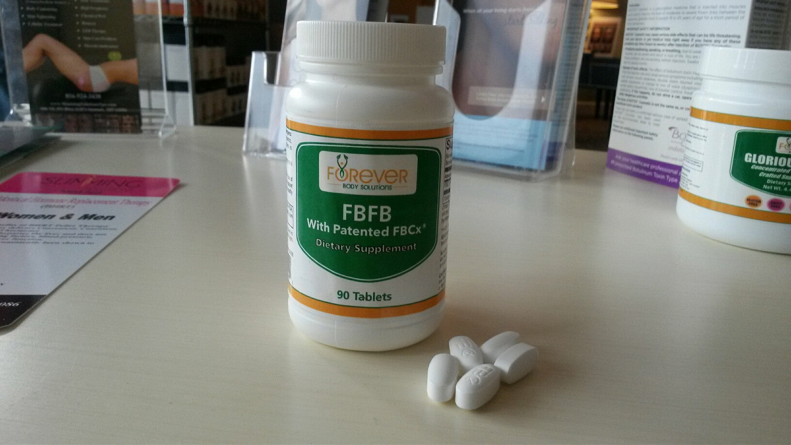 FBFB helps stops fat and calories from being absorbed!