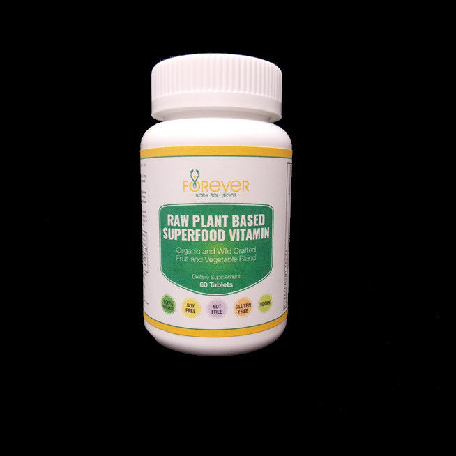 Raw Plant Based Superfood Vitamin 60 tablets