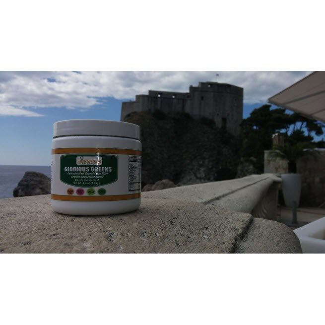 Glorious Greens Organic/Wild Crafted Prebiotic Superfoods