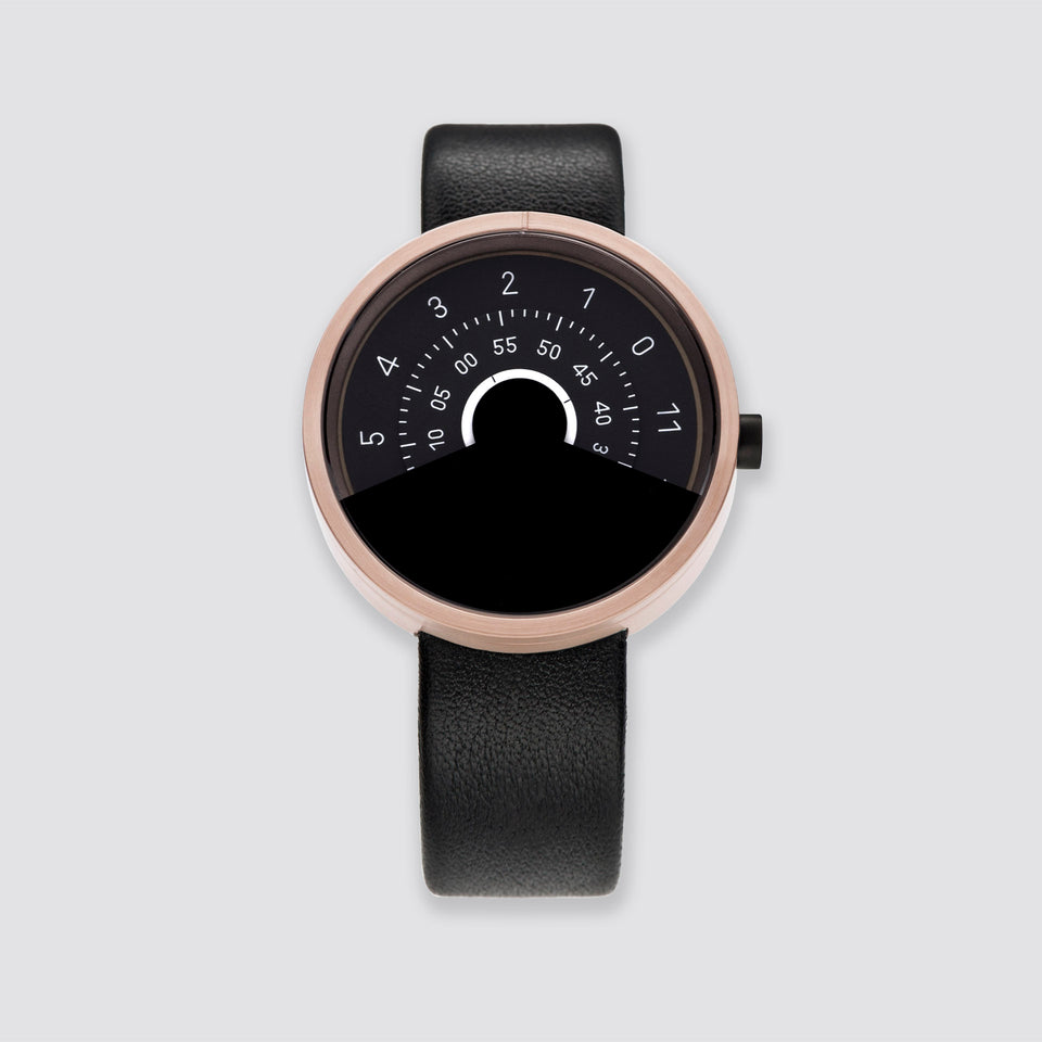 ANICORN Series 000 - Rose Gold & Black Automatic Watches