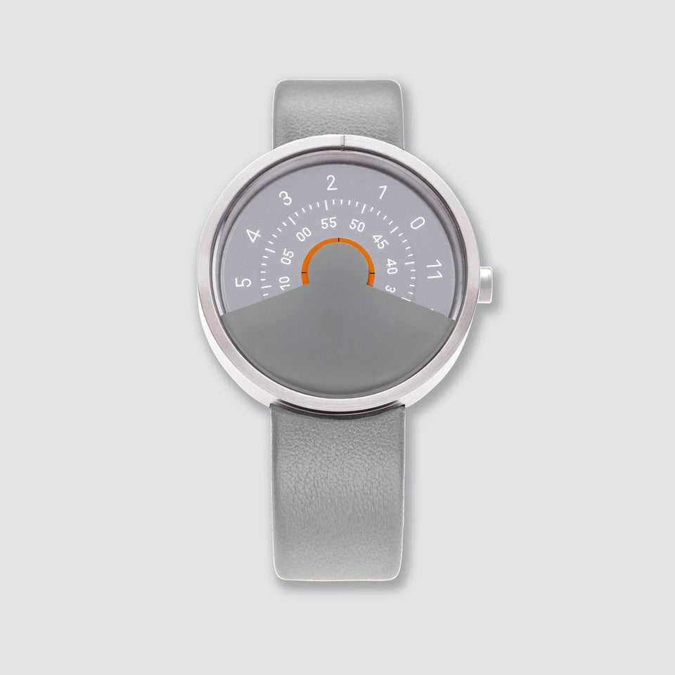 ANICORN Series 000 - Silver & Gray Automatic Watches