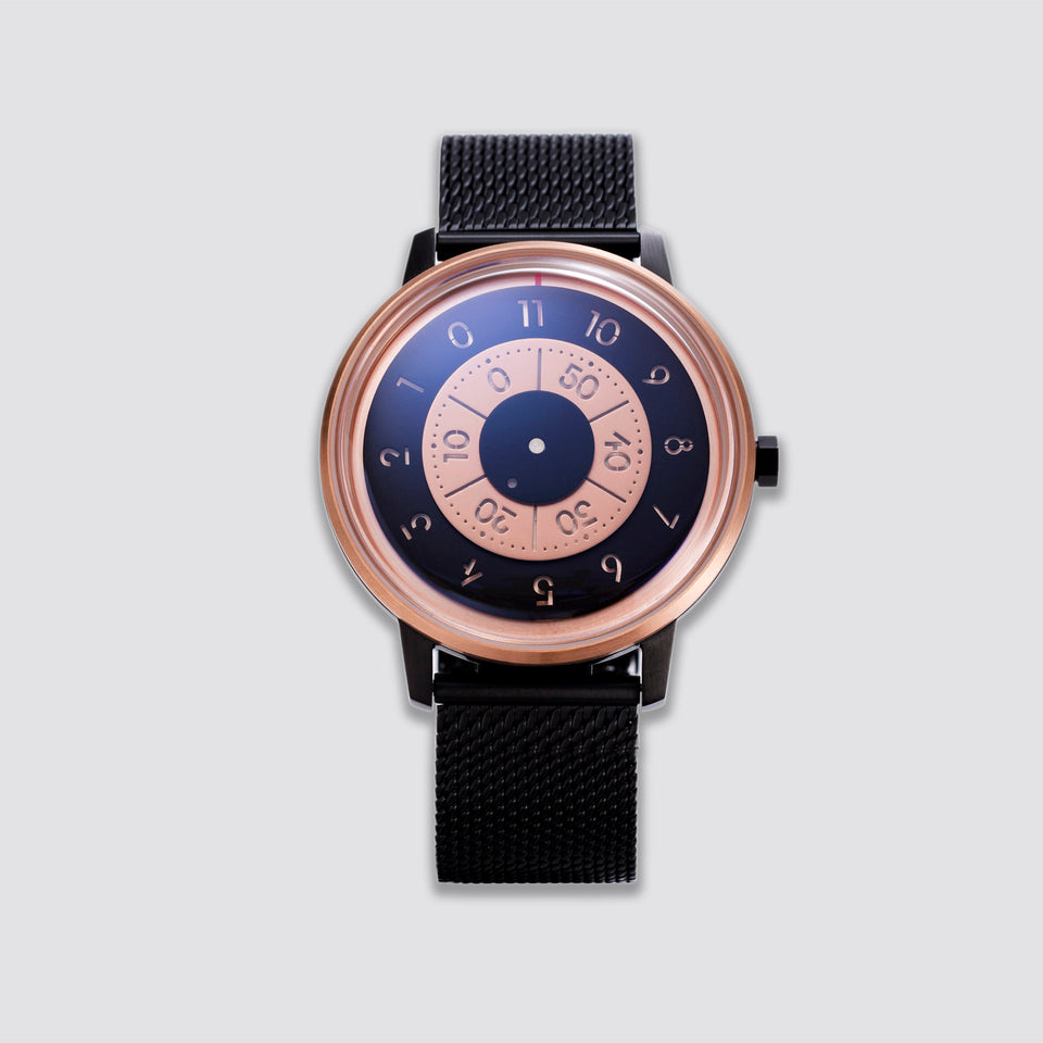ANICORN Series K452 Space Automatic Watches - Rosegold / black