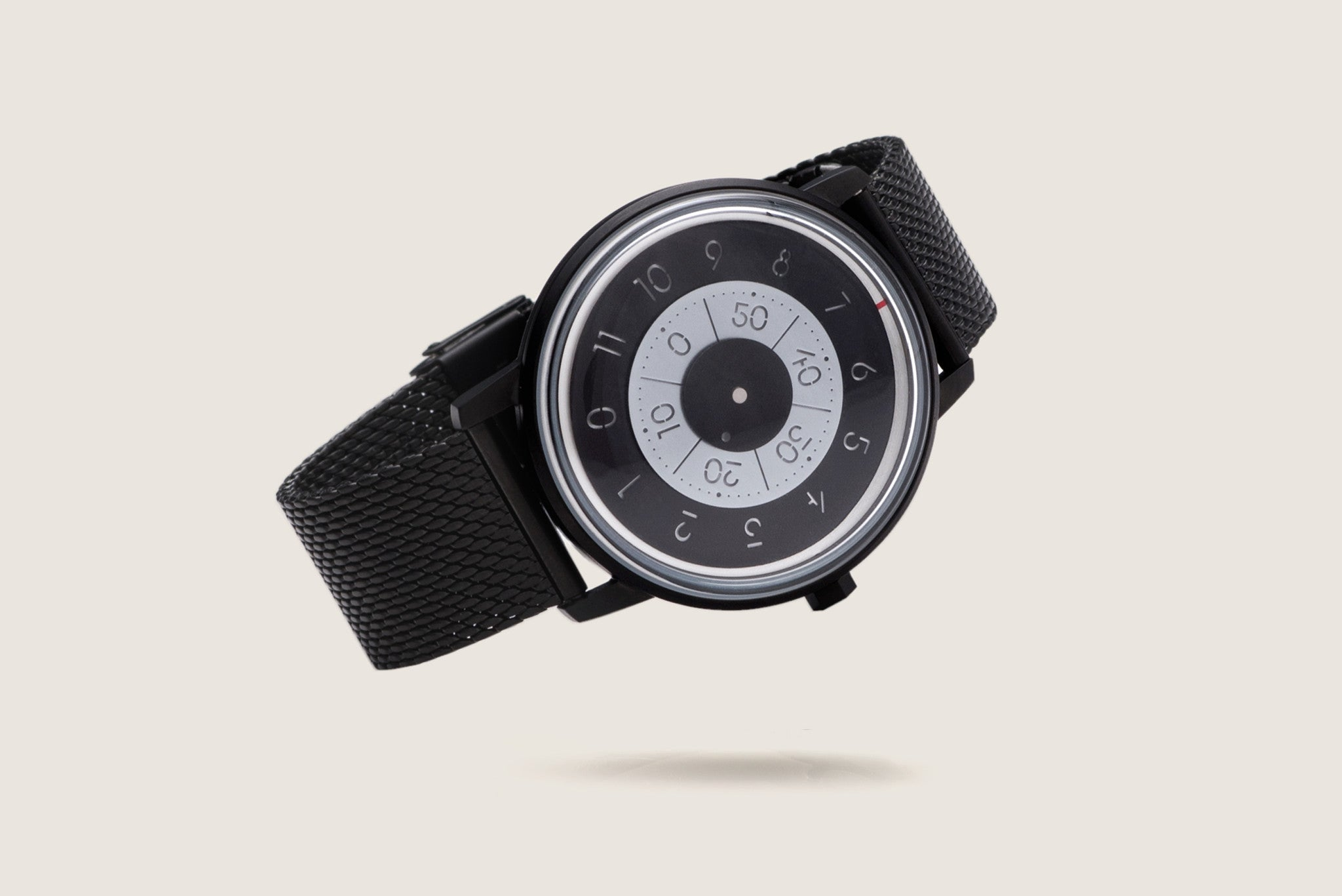 Milanese Mesh Watch Bracelet - PVD Black plating Steel (For Series K452) - Anicorn