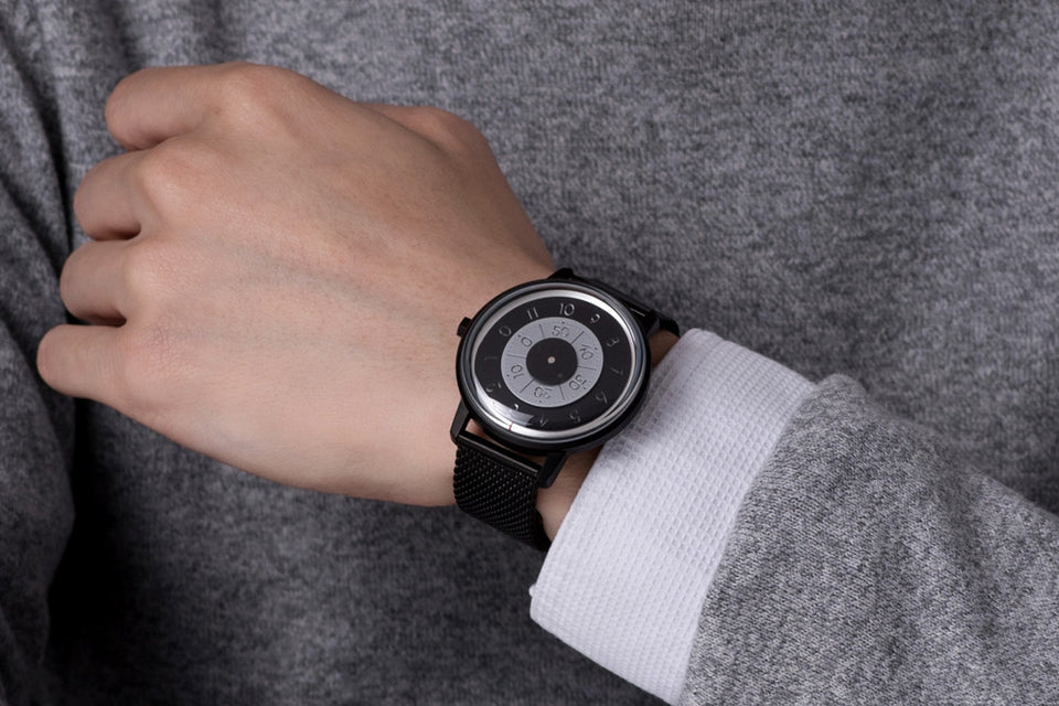 Milanese Mesh Watch Bracelet - PVD Black plating Steel (For series K452 & 000) - Anicorn