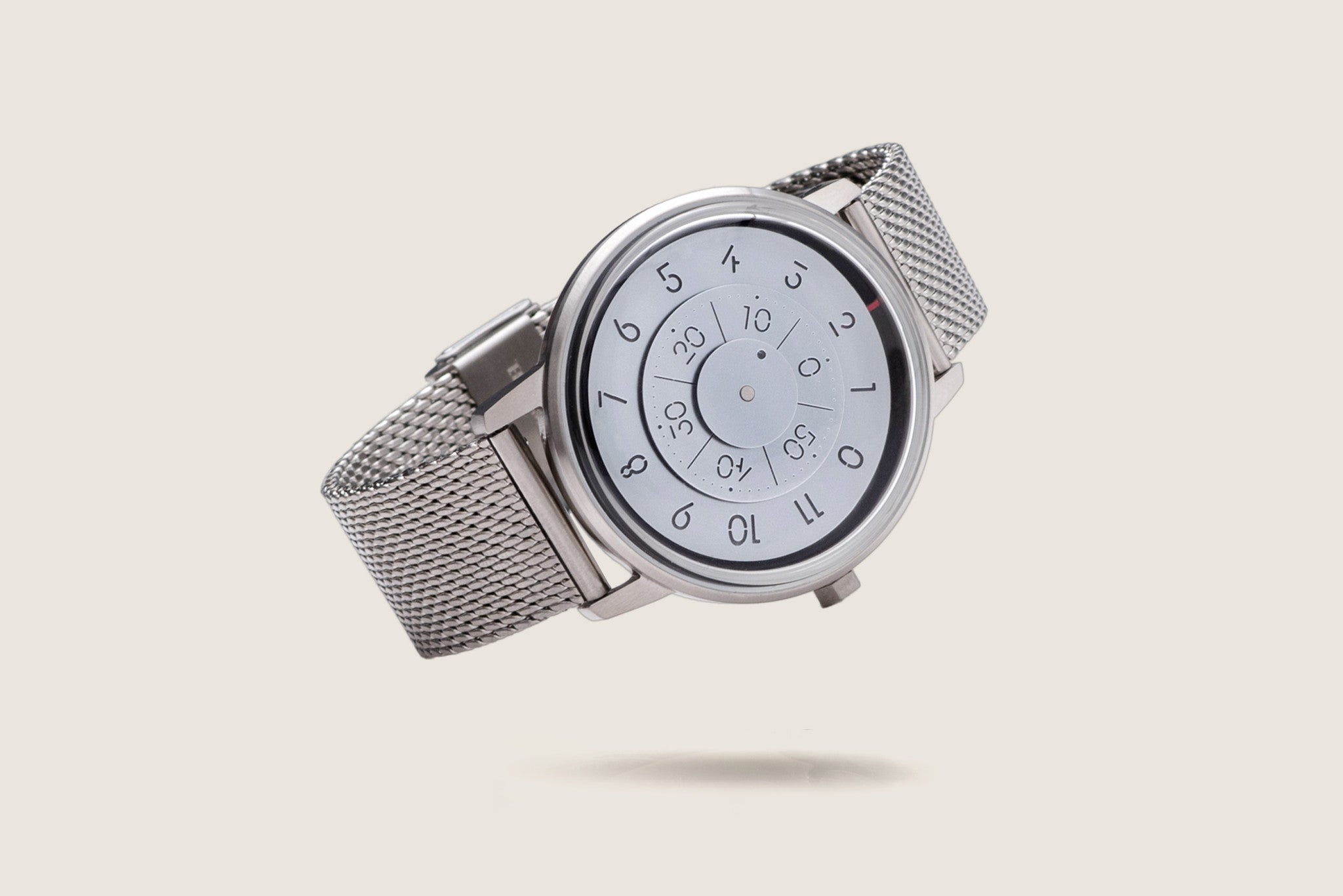 Milanese Mesh Watch Bracelet - Brushed Steel (For Series K452) - Anicorn