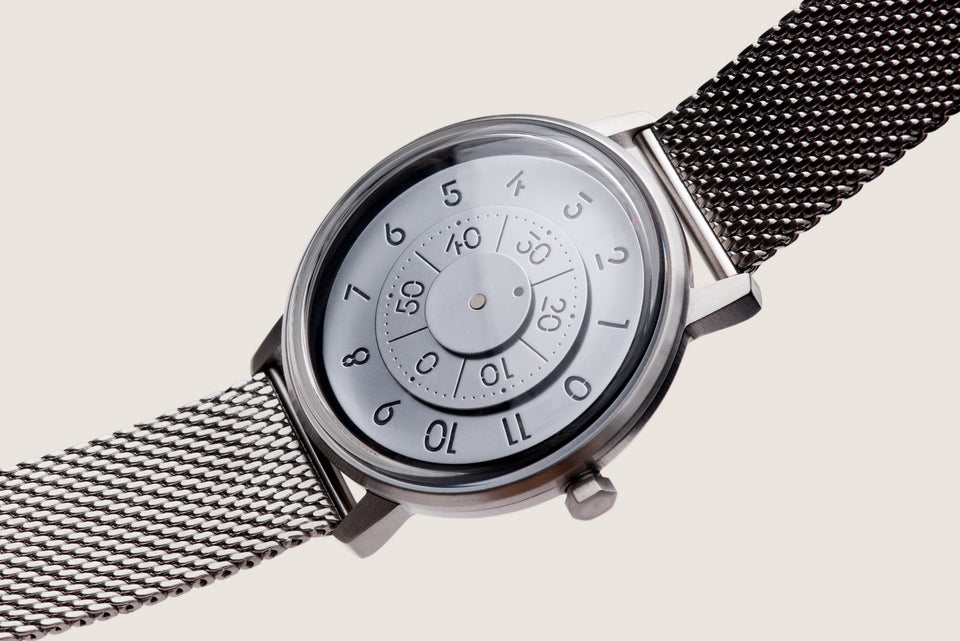 Milanese Mesh Watch Bracelet - Brushed Steel (For series K452 & 000) - Anicorn