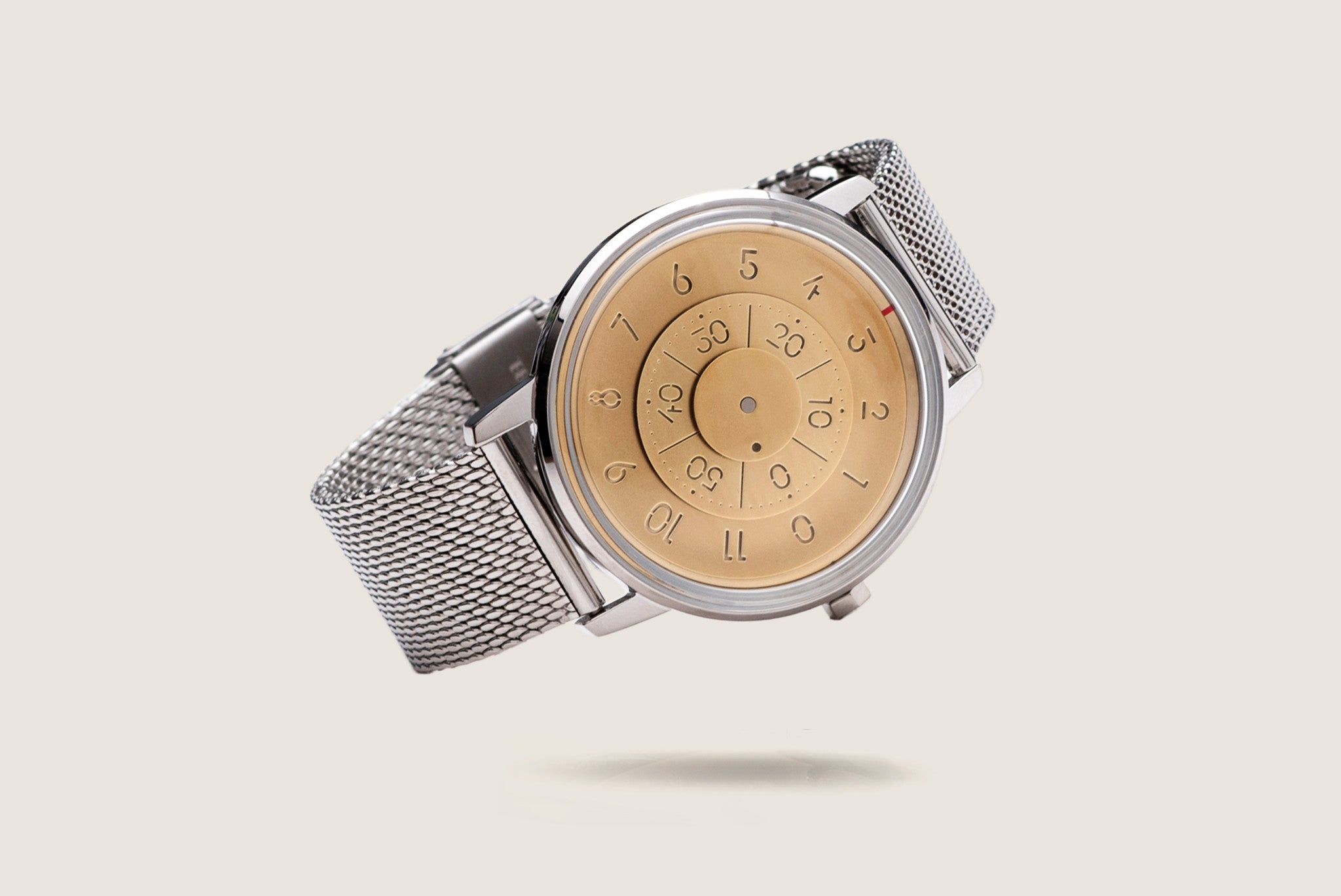 Milanese Mesh Watch Bracelet - Polished Steel (For Series K452) - Anicorn