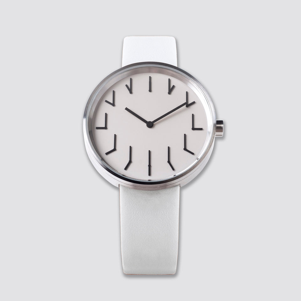 TTT#2.5 - New York - Redundant Watch - White