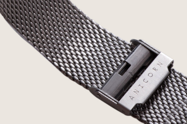 Milanese Mesh Watch Bracelet - Brushed Steel (For Series K452)